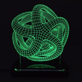 3D illusion light sculpture-Octopus