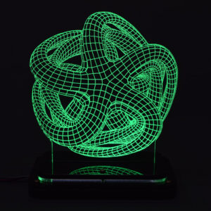 3D illusion light sculpture-Octopus
