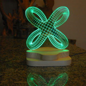 3D illusion light sculpture-Lepidos