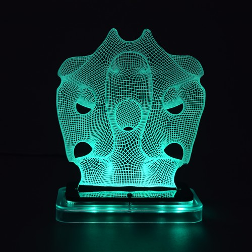 3D illusion light sculpture