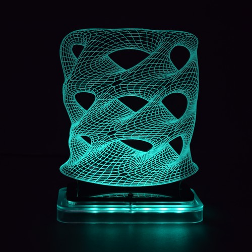3D illusion light sculpture - Tower